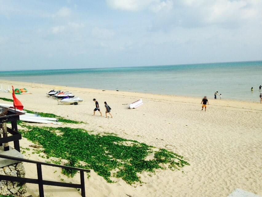 はいむるぶし小浜島リゾートのビーチ
