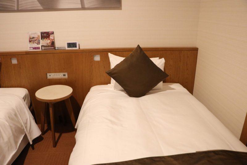 ホテルグレイスリー那覇のベッド