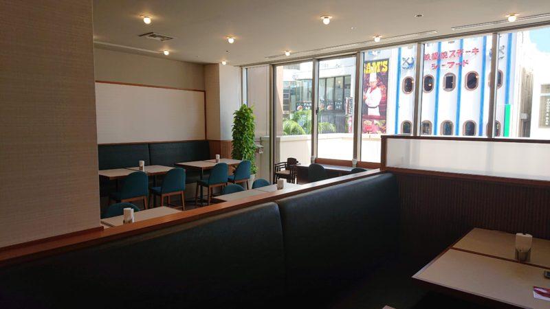 グレイスリー那覇のレストランの雰囲気席