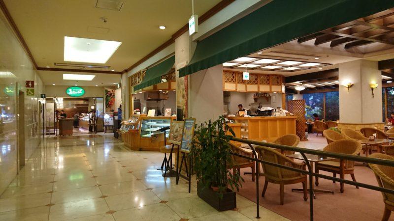 パシフィックホテル那覇の1回にあるレストラン