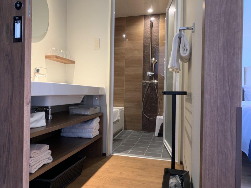 フサキリゾートのお風呂、洗面所