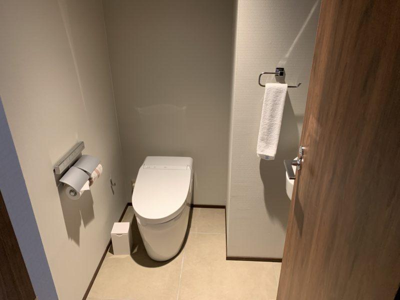 フサキリゾート(サウスウィン・スーペリアツイン)のトイレ