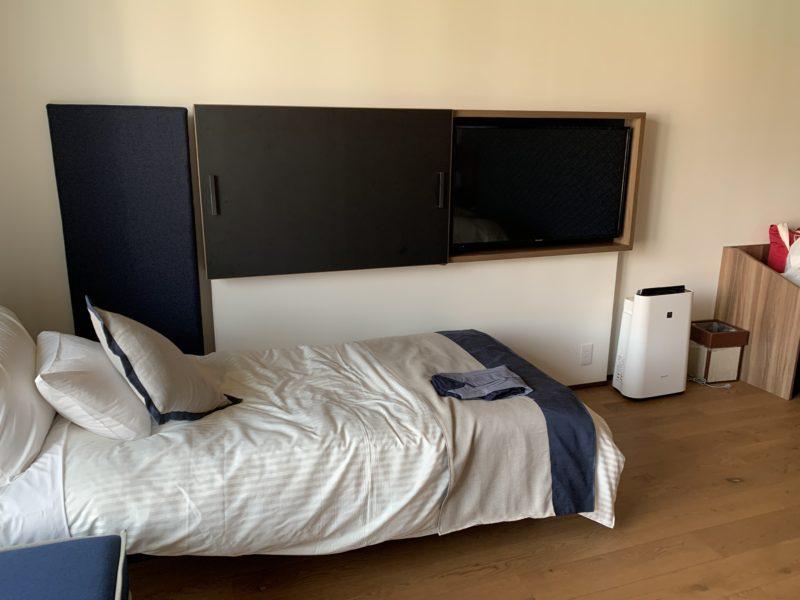 フサキリゾートの子ども用簡易ベッド
