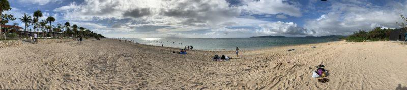 フサキビーチ(パノラマ撮影)
