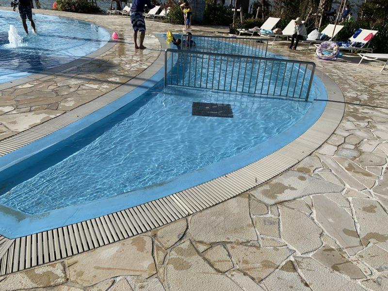フサキリゾートの屋外プール(ベビー用)