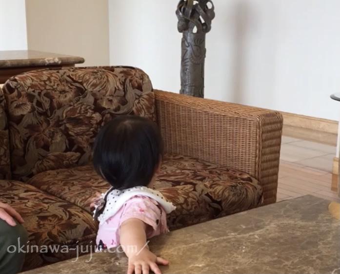 ANAいんたーコンチネンタル石垣リゾートのエントランスにあるソファ