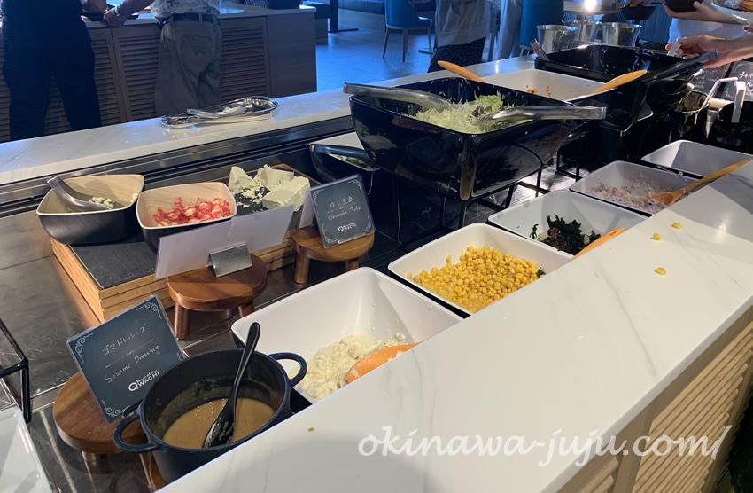 オキナワマリオットリゾート&スパのQWACHI(クワッチー)の料理