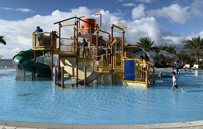 フサキリゾートの子ども用プール