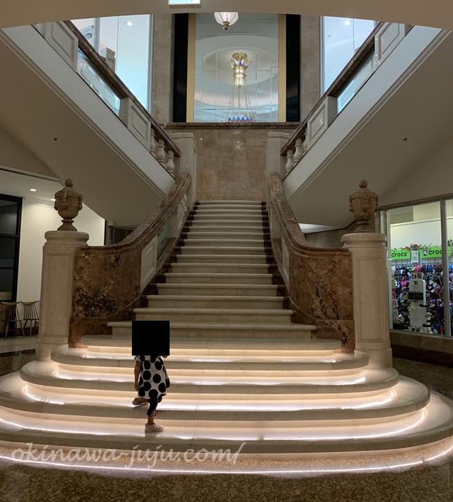 オキナワマリオットリゾート&スパの階段