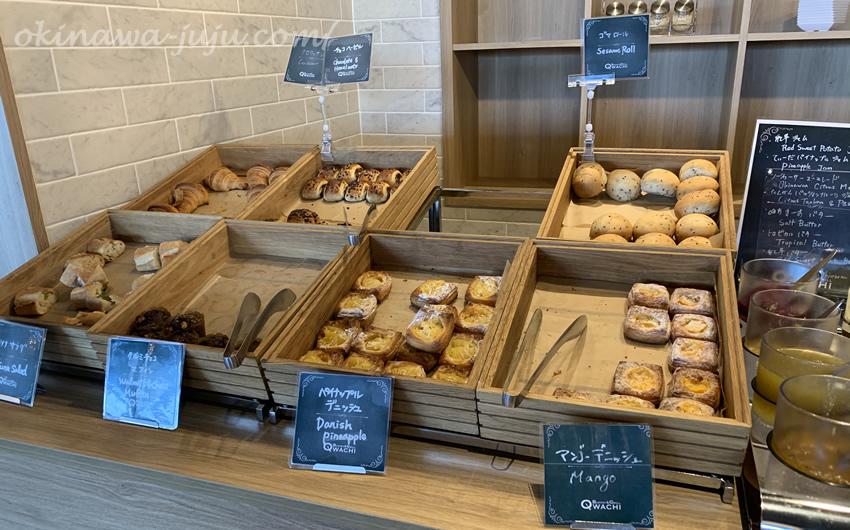 オキナワマリオットリゾート&スパのビュッフェレストラン「QWACHI(クワッチー)」のパン