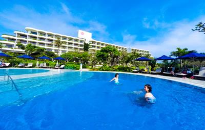 宮古島東急ホテルの子ども用プール
